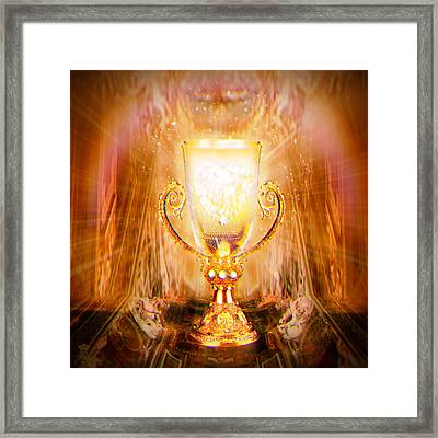 The Grail Framed Print by Li   van Saathoff