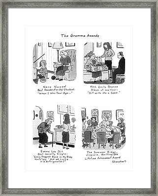 The Gramma Awards Framed Print