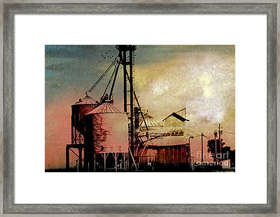 The Granary Framed Print by R Kyllo