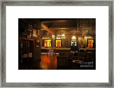 The Grand Cafe Southampton Framed Print by Terri Waters