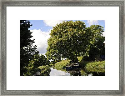 Canals And Slow Water  Framed Print