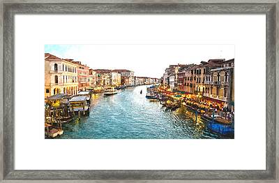 The Grand Canal Of Venice Framed Print