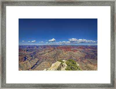 The Grand Canyon--another Look Framed Print by Angela A Stanton