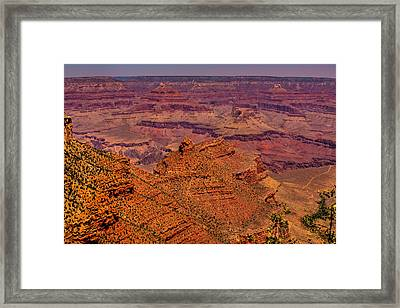 The Grand Canyon Iv Framed Print by David Patterson