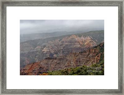The Grand Canyon Of The Pacific Framed Print