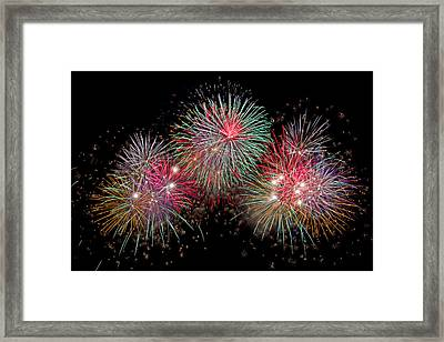 The Grand Finale Framed Print