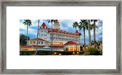 The Grand Floridian Resort 02 Walt Disney World Framed Print