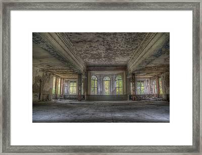 The Grand Hall Framed Print