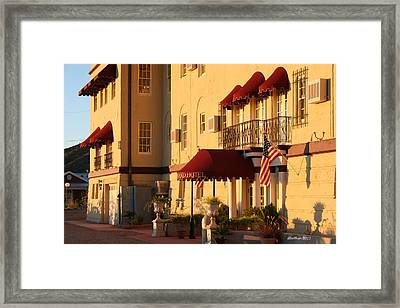 The Grand Hotel Framed Print