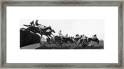 The Grand National At Aintree Framed Print