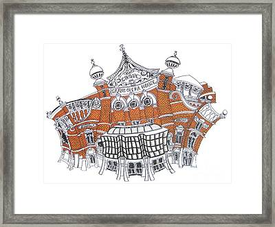The Grand Opera House Belfast Framed Print by Tanya Mai Johnston