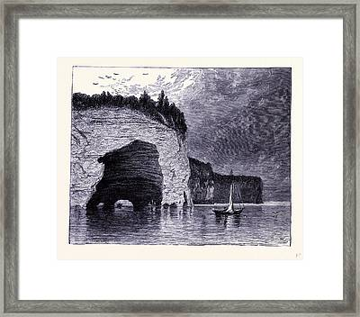 The Grand Portal United States Of America Framed Print by American School