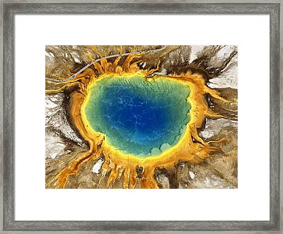 The Grand Prismatic Framed Print