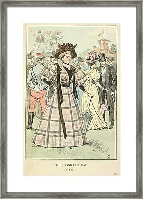 The Grand Prix Day Framed Print by British Library
