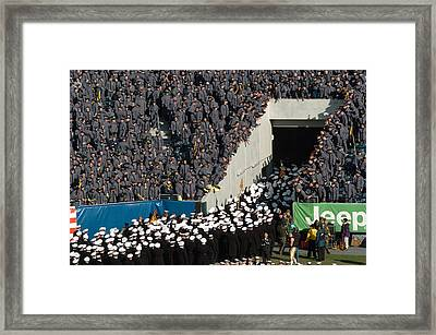 The Grand Rivaly Framed Print
