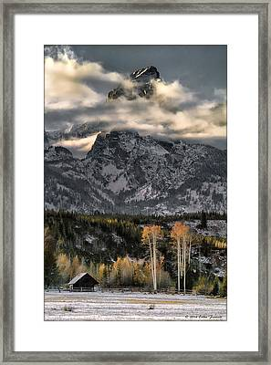 The Grand Teton Framed Print