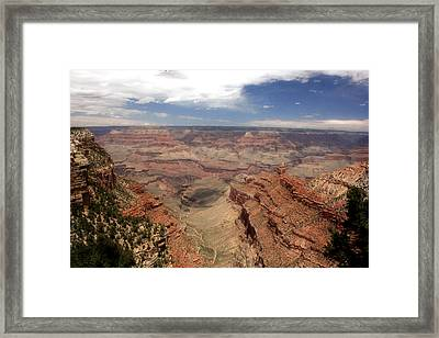 The Grand View Framed Print