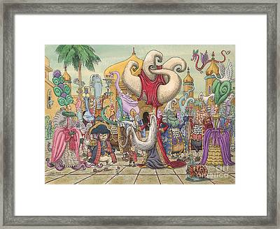 The Grand Viziers Garden Party Framed Print
