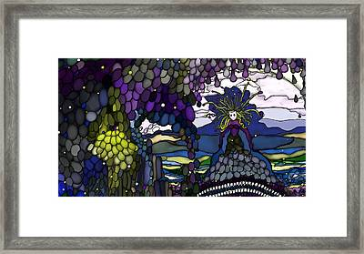 The Grape Arbor Medusa Framed Print by Constance Krejci