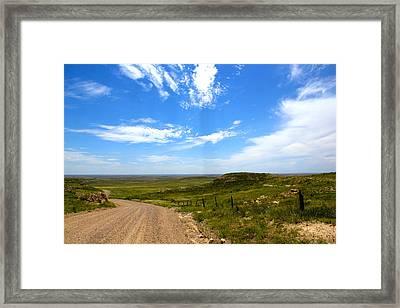 The Grasslands Framed Print