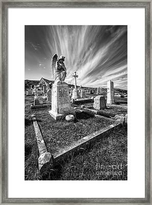The Graveyard Framed Print by Adrian Evans