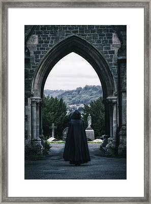 The Graveyard Framed Print by Joana Kruse