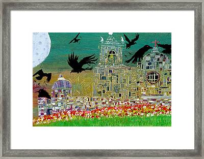 The Graveyard  Framed Print by Tyler Schmeling