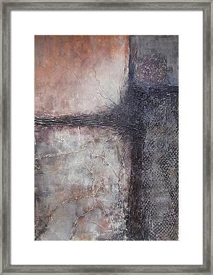 The Gray Life Framed Print