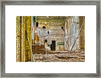 Framed Print featuring the photograph The Gray Room by Kimberleigh Ladd