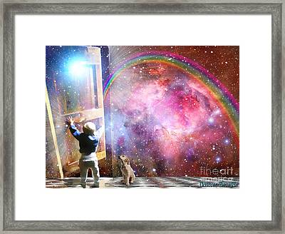 The Great Adventure  Framed Print by Dolores Develde
