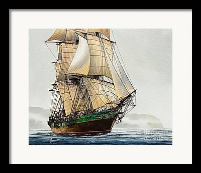 Age Of Sail Framed Prints