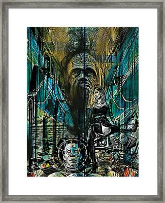 The Great And Powerful Framed Print