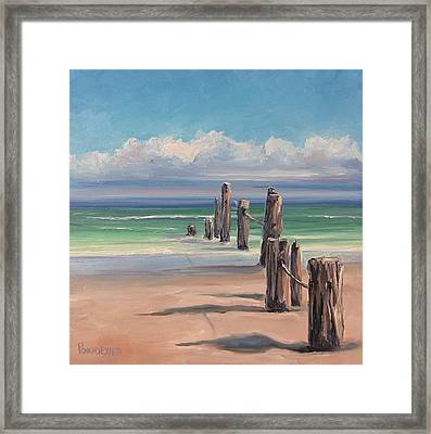 The Great Barrier Reef Framed Print by Dianna Poindexter