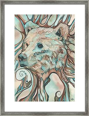 The Great Bear Spirit Framed Print by Tamara Phillips