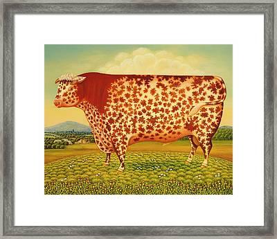 The Great Bull Framed Print