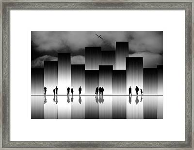 The Great City Framed Print