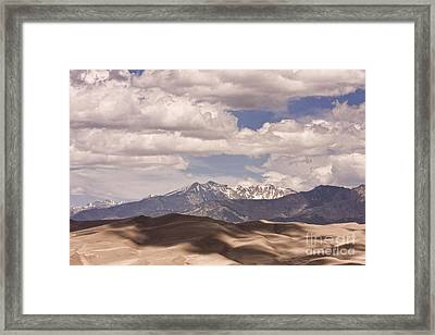 The Great Colorado Sand Dunes 38 Framed Print