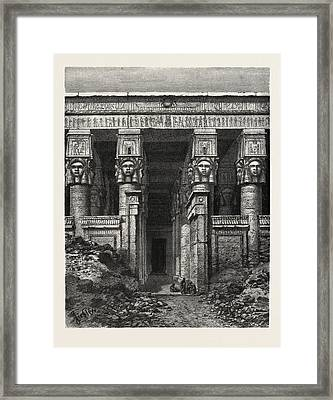 The Great Court Of Heaven Framed Print