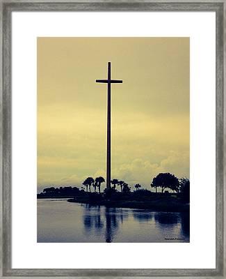 The Great Cross Framed Print