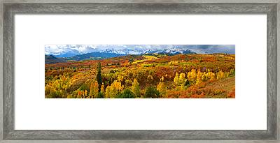 The Great Dallas Divide Framed Print