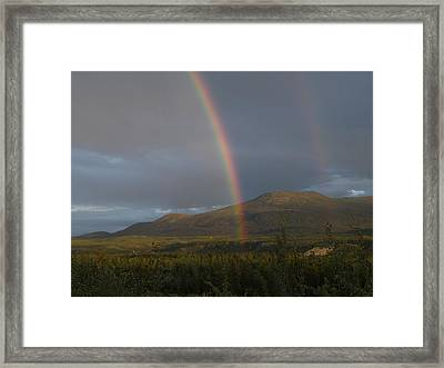 The Great Divide Framed Print