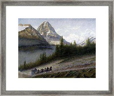 The Great Divide Framed Print by Gregory Perillo