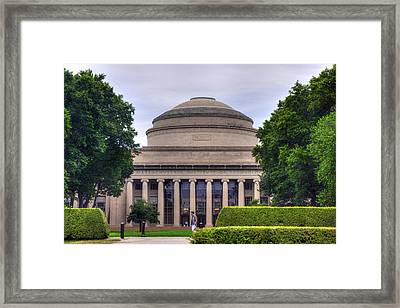 The Great Dome - Mit Framed Print by Joann Vitali