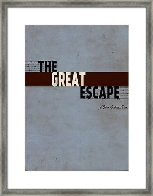 The Great Escape Framed Print by Ayse Deniz