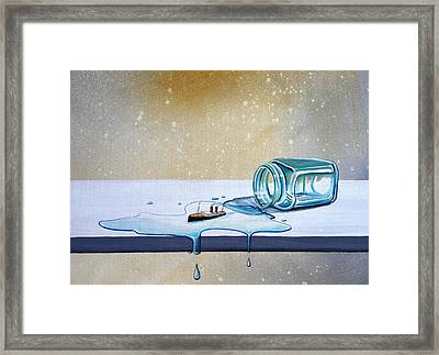 The Great Escape Framed Print by Cindy Thornton