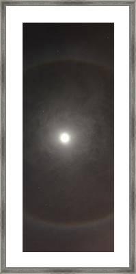 The Great Eye Framed Print