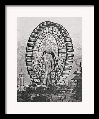 Wheels Drawings Framed Prints