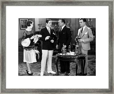 The Great Gatsby, From Left, Lois Framed Print by Everett