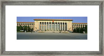 The Great Hall Of The People Framed Print by Panoramic Images