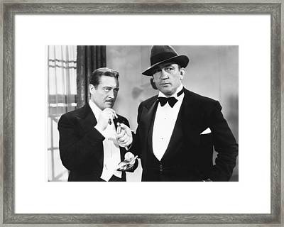 The Great Hotel Murder, From Left Framed Print by Everett